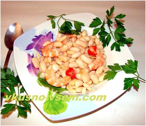 Блюда из консервированной фасоли