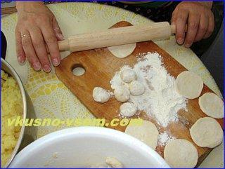 Как приготовить вареники с картошкой для семьи