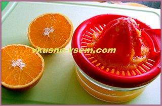Апельсиново-бананововый коктейль