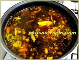 Как варить грибной суп