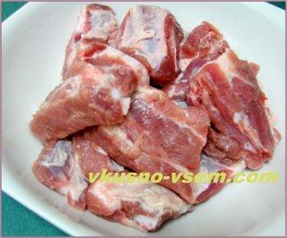 Свиные ребрышка в маринаде