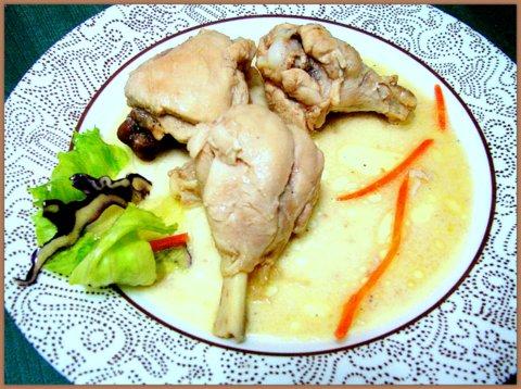 Курица в сметане