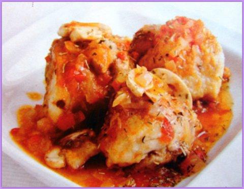 Курица по-португальски