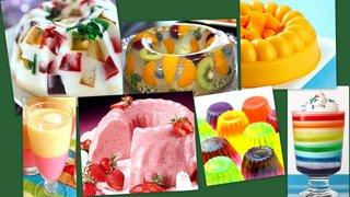 Десерты из желатина