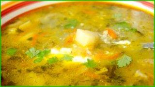 Суп из крыльев индейки