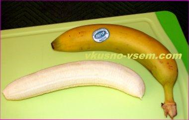 Банановое блюдо йо-йо