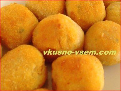 Сладкие картофельные шарики