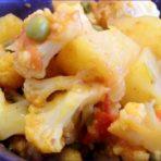 Цветная капуста с картофелем