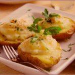 Картофель фаршированный