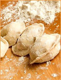 Вкусные вареники с картошкой