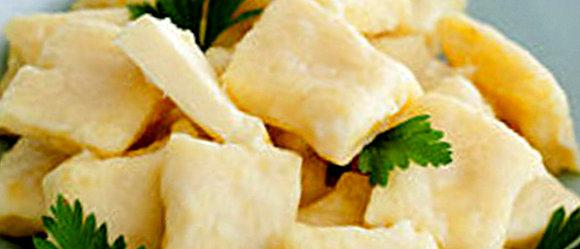 Картофельные галушки