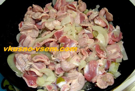 Как приготовить вкусные куриные желудки