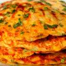 Лепешки с кукурузой и сыром