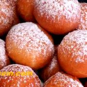 Творожные шарики-пончики