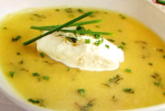 Рецепт сырного крем-супа