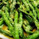 Зеленая фасоль по-гречески