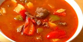 Грибной суп-гуляш