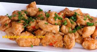 Куриный шашлычок по-китайски