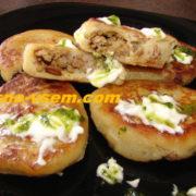 Картофельные зразы с грибной начинкой